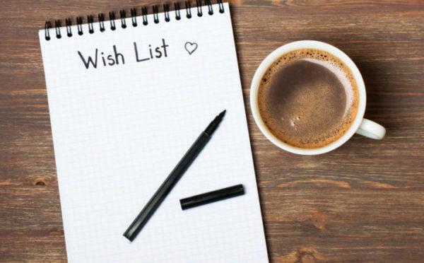 Divorce Wish List